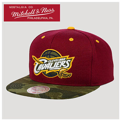 Cleveland Cavaliers NBA Mitchell and Ness Snapback Cap, Hat