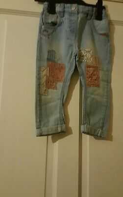 Lovely girls next  fashion jeans age 18-24 mths