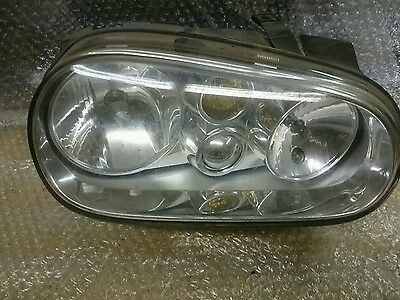 Volkswagon golf drivers side headlight1997_ 20041 broken fixing but fits ok