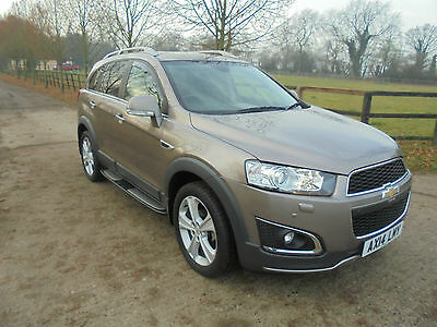 Chevrolet Captiva 2.2VCDi DIESEL ( 184ps ) AWD ( s/s )  LTZ 7-SEAT