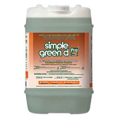 simple green d Pro 3 One-Step Germicidal Cleaner and Deodorant, 5 gal Pail