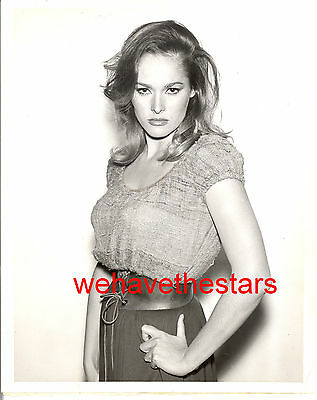 Vintage Ursula Andress SEXY BUSTY '63 THRILLER TV PRESS Publicity Portrait