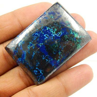 245.1 Cts 100% NATURAL AZURITE BEAUTIFUL COLOUR AND QUALITY CABOCHON L#164-56
