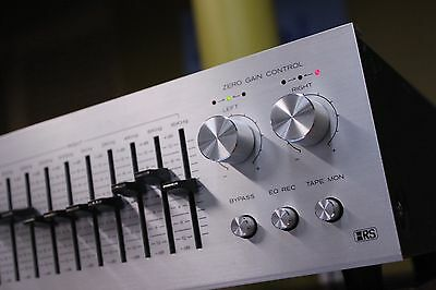 CLEAN Vintage REALISTIC 10-band EQ Equalizer 31-2000A Excellent with orig box