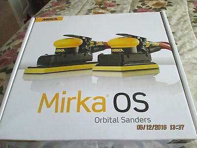 Mirka Orbital Air Sander-Os353Cv-With Central Vacuum
