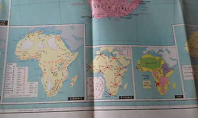 The Daily Telegraph Map Of Africa 1960