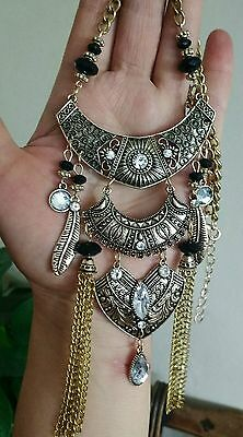 Ethic bronze necklace Tribal Handicraft Oriental ethic