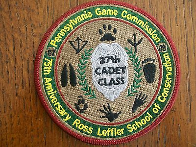 """Pennsylvania Pa Game Commission  Patch 4"""" 2007-2008 27Th Class Rlsc"""