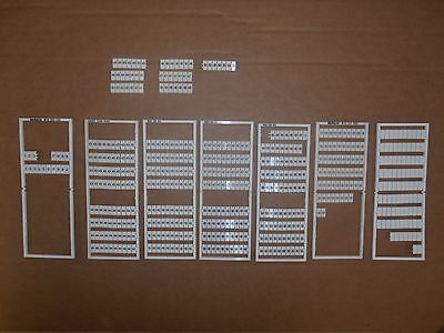 Wago LOT of Partial Terminal Block Markers