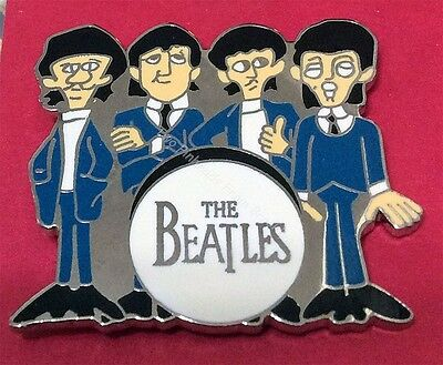 Beatles Fab Four Pin Limited And Store Only Sale!
