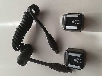 Canon FLASH ACCESSORIES BUNDLE 2 X HSA-2  Hot Shoe & 2 X Flash adaptor 1 X cable