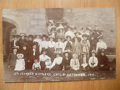1911 St George's Mothers Guild Gateshead - Photo By J A Pringle Amble