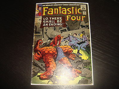 FANTASTIC FOUR #43  Silver Age   Marvel Comics 1965  Poor/Fair Complete