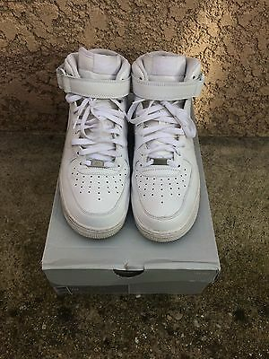 Nike Air Force 1 Mid' White 10US
