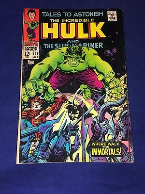 Tales To Astonish The Incredible Hulk 101 Marvel Comics / Higher Grade 1967