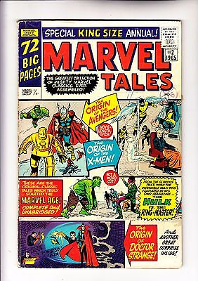 Marvel Tales 2 reprinting Avengers 1 and X-Men 1