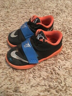 Toddler Kevin Durant Shoes Size 7c