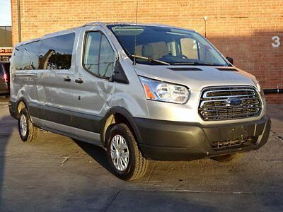"2016 Ford Transit Connect T-350 148"" Low Roof Sliding RH Dr 2016 Ford Transit T-350 148"" Low Roof Damaged Wrecked Only 17K Miles Wont Last!!"