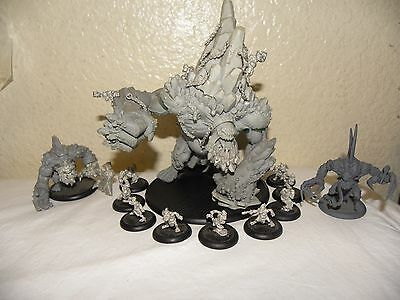 Hordes Trollblood Mountain King Gargantuan  Privateer Press UNPAINTED + ARMY