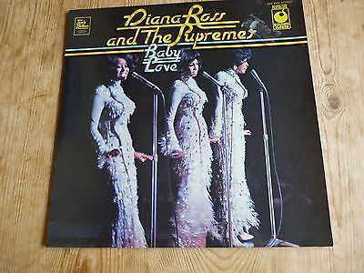 Diana Ross And The Supremes vinyl LP Baby Love plays VG+ SPR90001