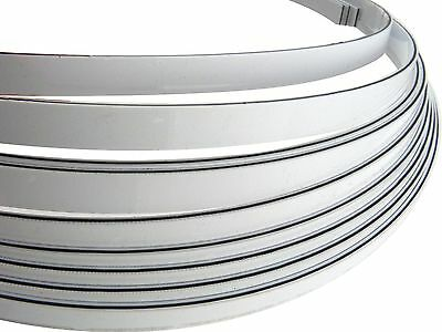 Incudo™ 3-Ply PVC Guitar Binding/Purfling Strip - Laminated Black/White, 66""