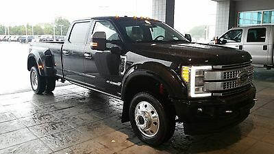 2017 Ford F-450  17 F450 Platinum Diesel! Brunello Leather! Platinum Ultimate Package! WOW! LOOK!