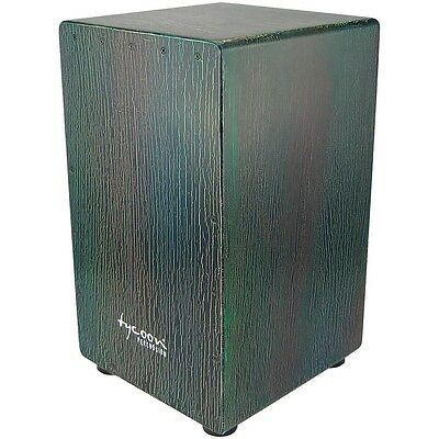Tycoon Percussion 29 Series Supremo Select Cajon Dark Iris Finish LN