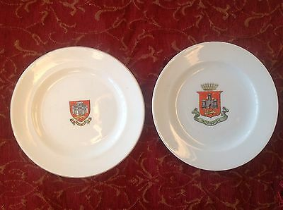 Norwich Crested Ware Plates (2)