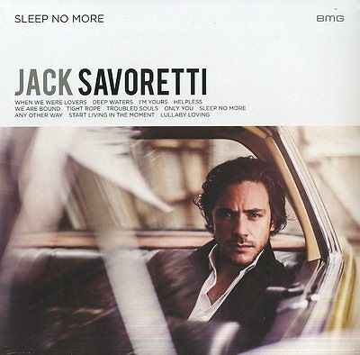 Savoretti Jack Sleep No More Vinile Lp Nuovo Sigillato