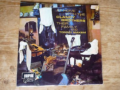 At Home With The Clancy Brothers Their Family And Tommy Makem vinyl Emerald Eire