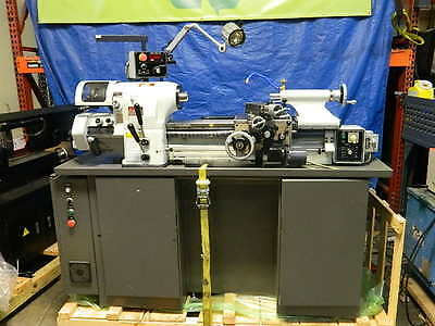 Vectrax Turn-Pro High Speed Accuracy Toolroom Tool Lathe w/ Variable Controls