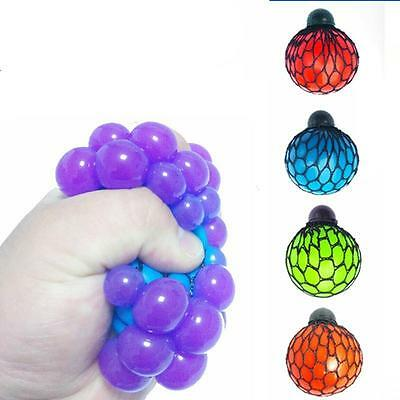 Squishy Mesh Ball Squeeze Toy Stress Office Secret Xmas Santa Stocking Filler