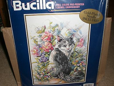 Bucilla Crewel Embroidery Kit New