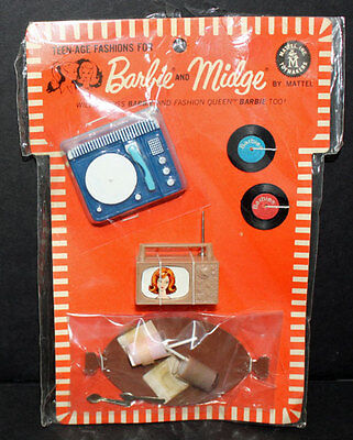 Barbie Vintage Have Fun Pak Fashion Mint on card with booklet 1966-67