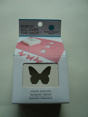 Martha Stewart Punch All Over The Page 'classic Butterfly' Bnip *look*