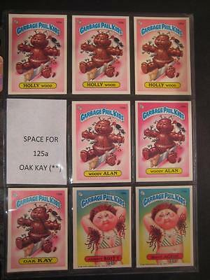 GARBAGE PAIL KIDS 1980s 4th SERIES SET 133 EXTENDED SET MISSING 2 - ALL * AND **