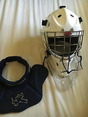 Bauer Profile 940 Face Mask Bundle With Vaughn VPC Medium Neck Guard