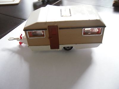Matchbox  Caravan With Tan Trimming
