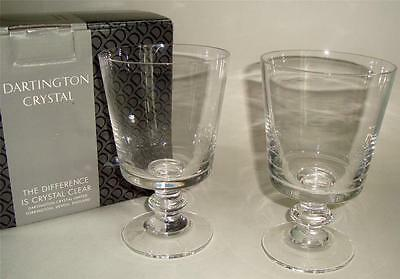 Dartington Crystal Glass Chalice Pair Boxed   03