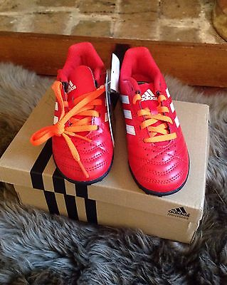 Adidas Kids Boys Girls Astroturf Trainers Football Boots size 10
