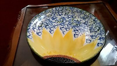 poole pottery vincent sunflower dinner plates