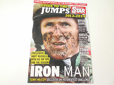 Horse Racing 2013/2014 National Hunt Season Guide To The Jumps 32 Page Magazine