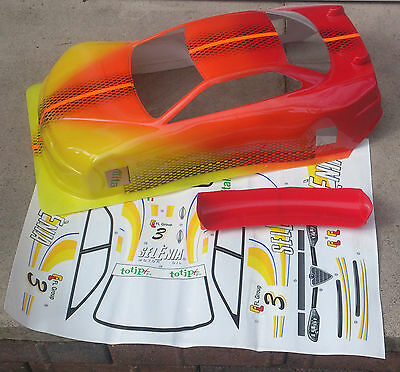 New 200mm Alfa Romeo 156 1/10th Nitro RC Touring Car Body Shell Cover Top Lid