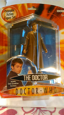 Doctor Who 6'' The 10Th Doctor With Sonic Screwdriver Accessory