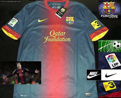 Maillot Football FC Barcelone 2012 / 2013 taille L - Authentic NIKE 100% NEUF