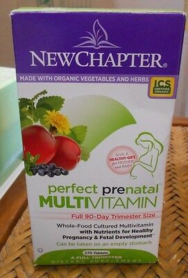 New Chapter - Perfect Prenatal / Multivitamin - One Full Trimester / 270 Tablets