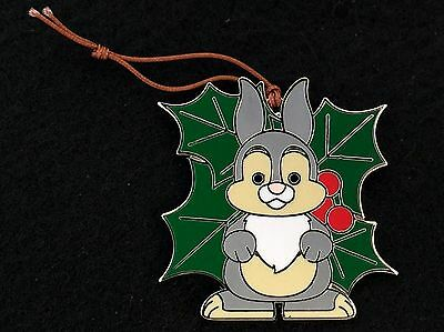 Disney Trading Pin - Christmas Ornaments Reveal Conceal Thumper from Bambi