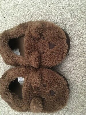 GAP Childrens Bear slippers size M