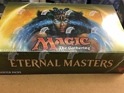 Magic the Gathering MTG Eternal Masters Booster Box Factory Sealed English New