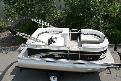 New 14 Ft high quality pontoon boat with 25 four stroke and trailer $3000 off